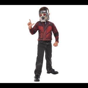 Star lord boys costume top set